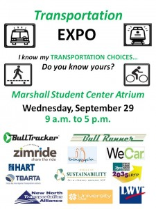 USF Transportation Expo Flyer