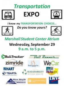 USF Transportation Expo Flyer